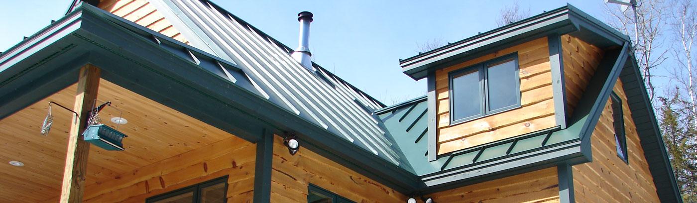standing seam metal roofs Maine