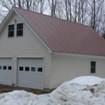 metal garage roofing Maine