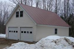 metal garage roofing Maine