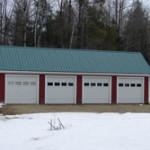 Garage roofs Maine