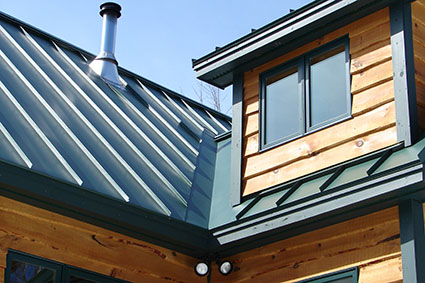 Standing Seam Metal Roofing Contractor In Maine Rb Construction