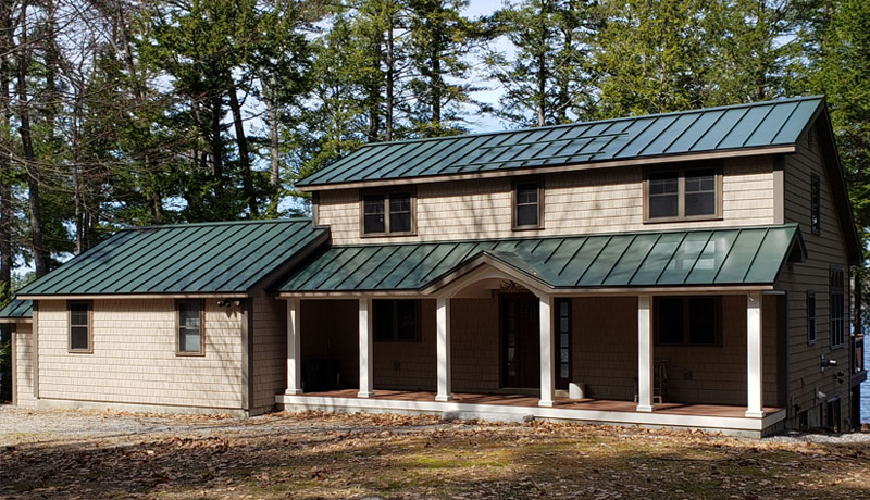 standing seam metal roof contractors buckfield Maine
