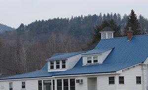 Standing seam metal roofing contractor Newry Maine